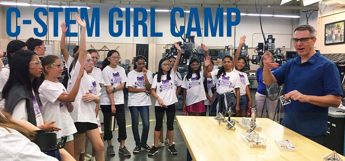 GIRL (Girls in Robotics Leadership) and GIRL+ Camps