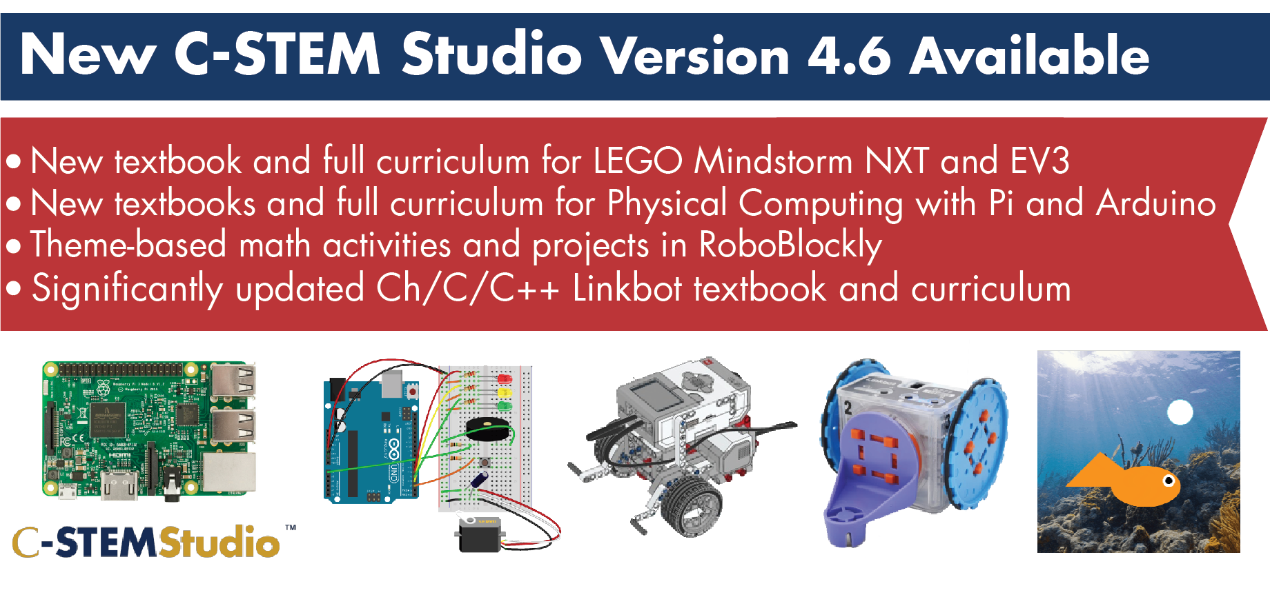 C-STEM Studio v4.6 released!