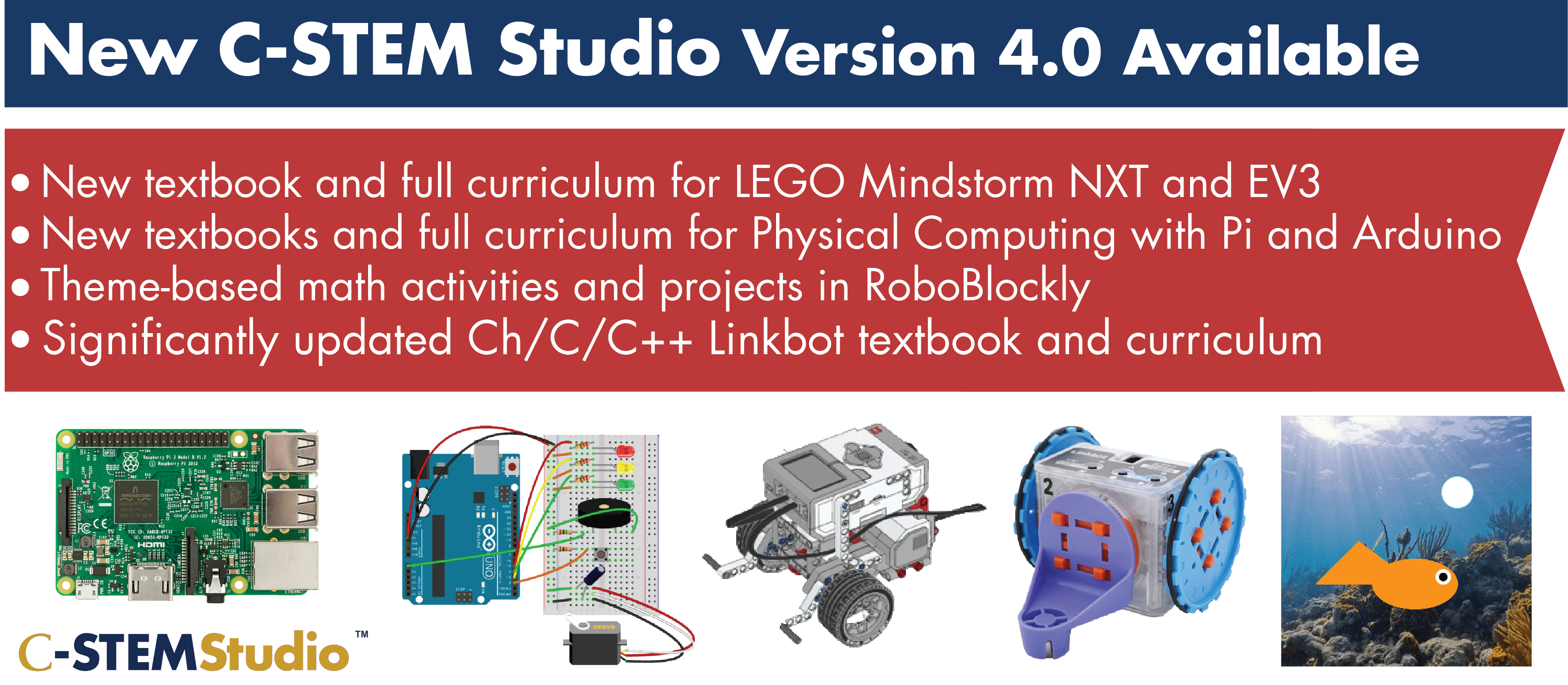 C-STEM Studio v4.0 released!