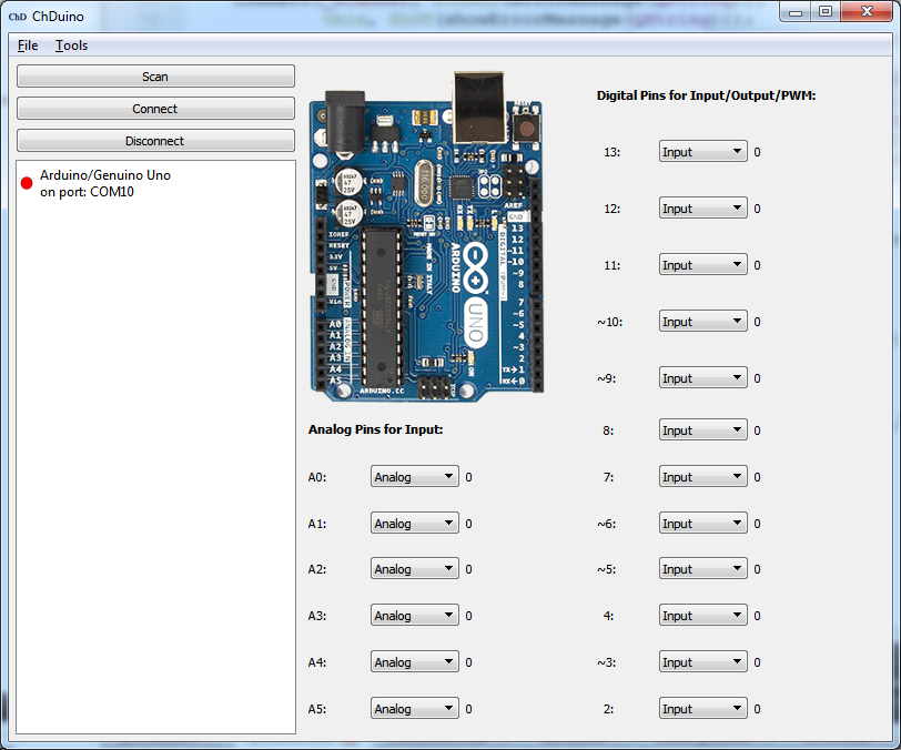 Arduino serial numbers