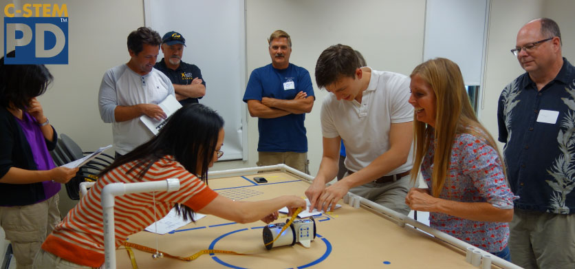 C-STEM 1-Week Institute, June 13-17, 2016