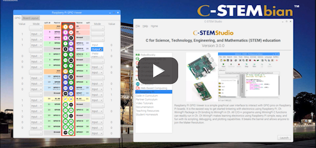Introducing C-STEM Studio for Raspberry Pi